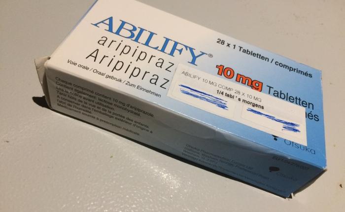 Abilify, my experience –medicine